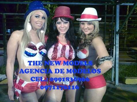 The new models cuerpos pintados