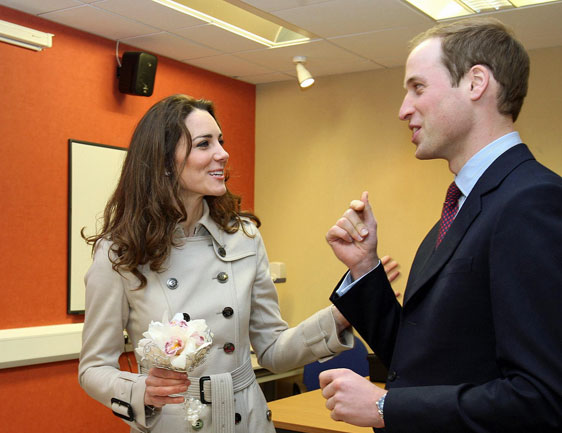 Kate y Guillermo Foto : Gtres