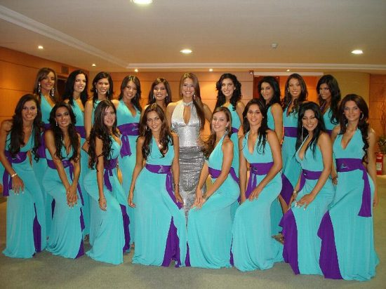 Candidatas a Miss Paraguay 2007