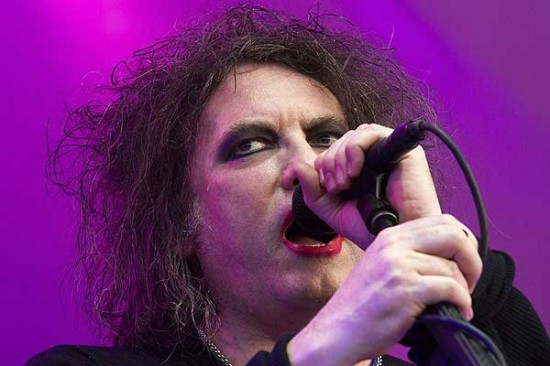 Robert Smith, líder de The Cure.