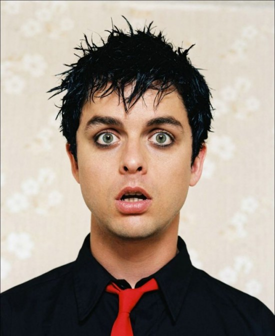 Billie Joe Armstrong, guitarrista y vocalista de Green Day.