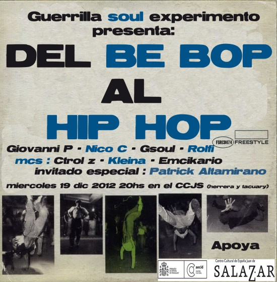 cover gsoul bebop to hip hop2 copia
