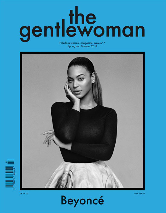 La portada de &#039;Gentlewoman&#039; de febrero con Beyonc.