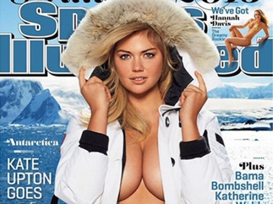 La portada de la nueva Sports Illustrated con Kate Upton.