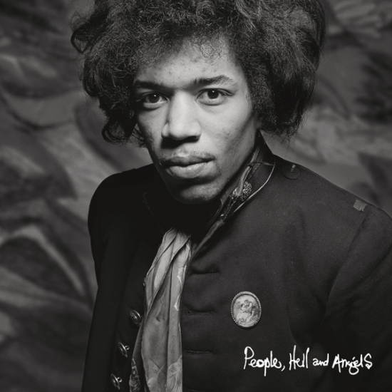 La portada del nuevo disco de Jimi Hendrix.