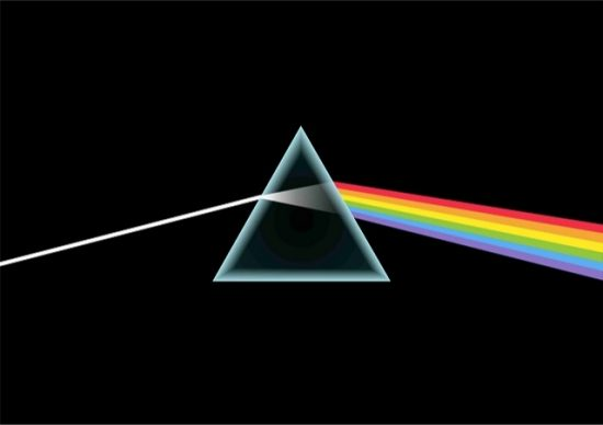 La portada del mtico lbum de Pink Floyd.