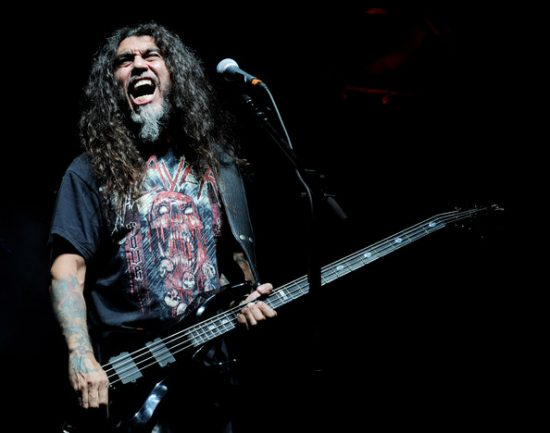Tom Araya, vocalista y bajista de Slayer.