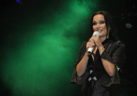 Tarja Turunen, durante su presentacin de abril del 2012. (Foto Diorama/Nilson Olmedo)
